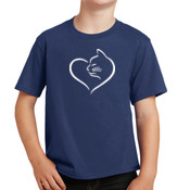 Cat Heart Youth T-shirt