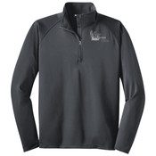 Adult Embroidered 1/2 Zip Performance Pullover