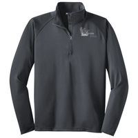 Adult Embroidered 1/2 Zip Performance Pullover Thumbnail